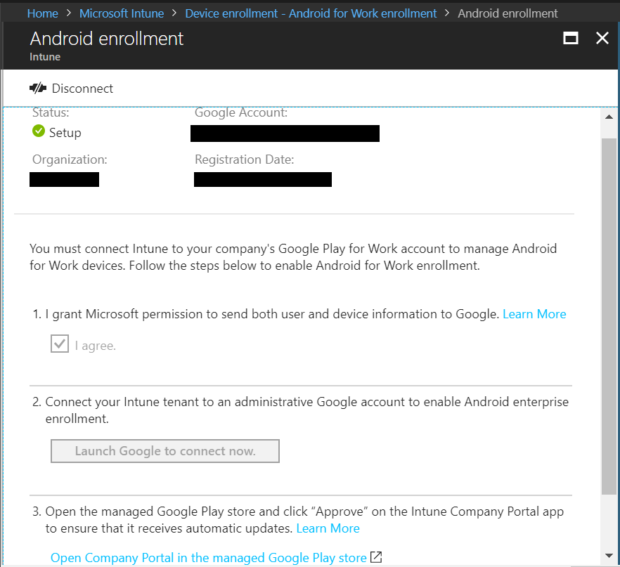Intune: How to enable Android for Work enrollments – Jun Wong