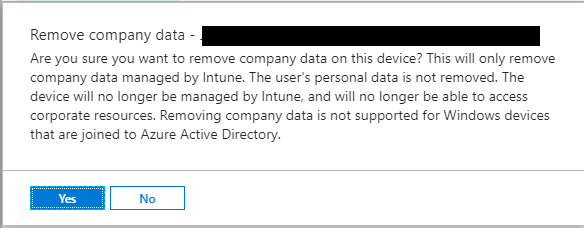 Intune: Removing Company Data from an Android Device – Jun Wong